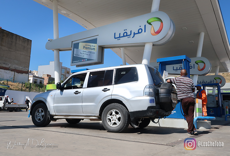 Combustible en Marruecos