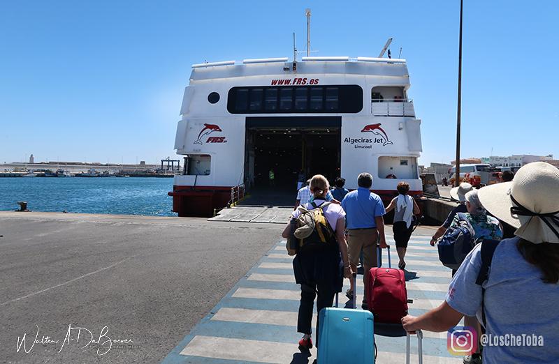 Ferry de Tarifa a Tanger