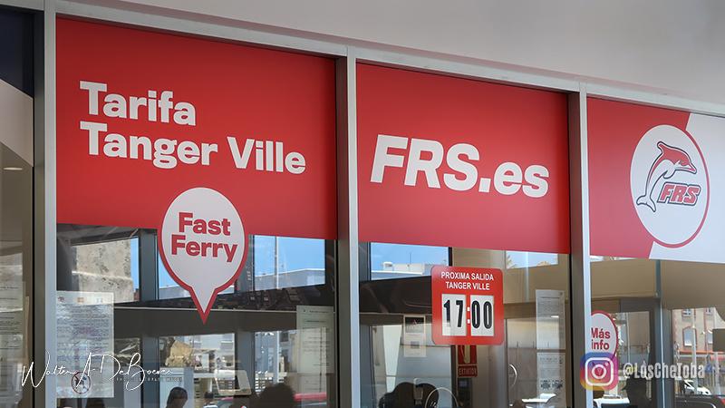 comprar ticket viajar en ferry a marruecos