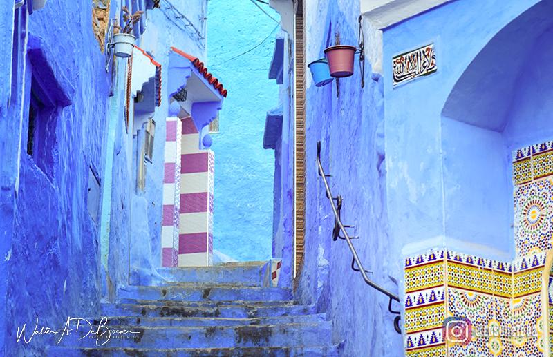 La medina azul de marruecos
