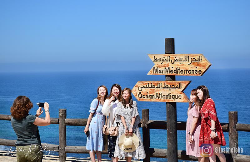 Encuentro de Mar Mediterráneo y océano atlántico