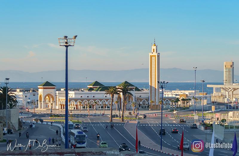 llegada a marruecos, Tánger