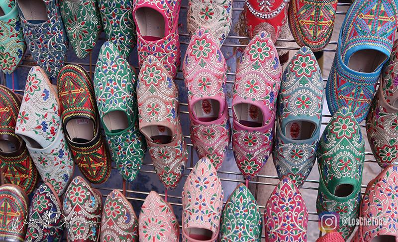 zapatos tipicos de marruecos