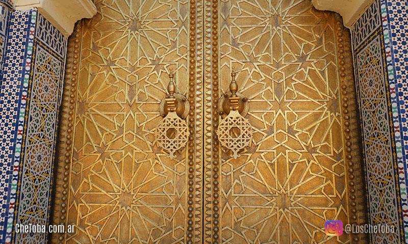Puertas Palacio Real de Fez