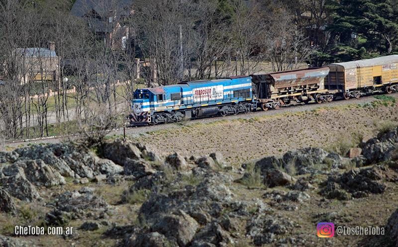 Formación de tren de Ferrosur