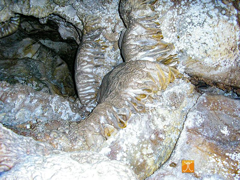 Estalactitas Cueva de las Brujas Malargüe