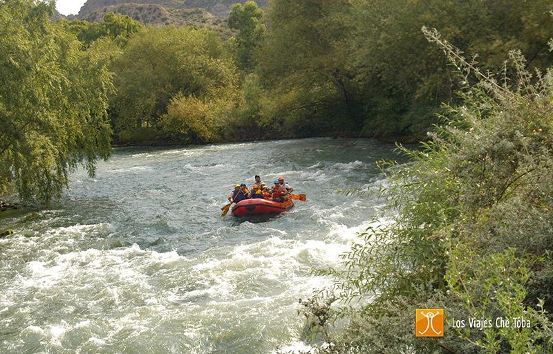 Rafting en San Rafael Mendoza