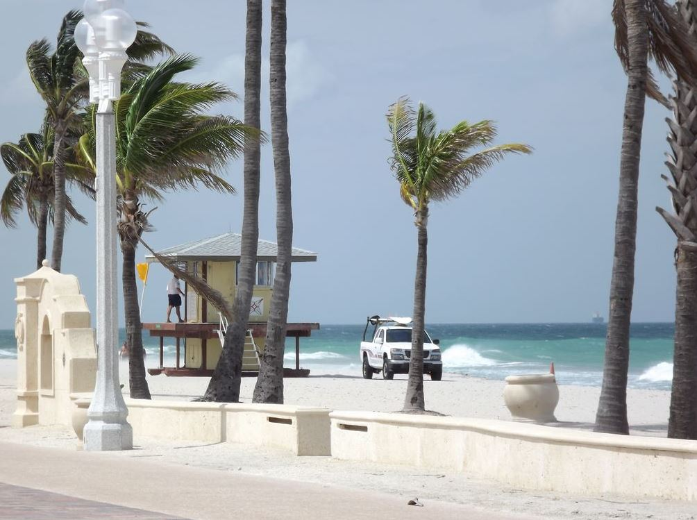 Playas al norte de Miami