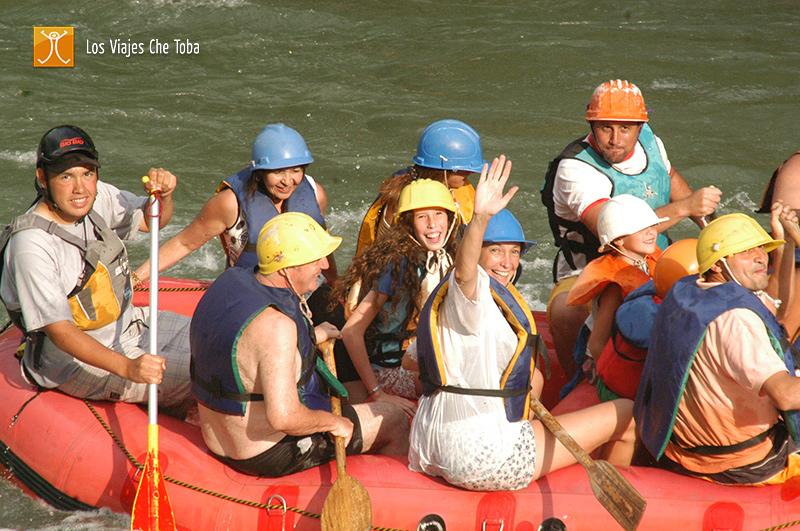 Rafting en el Atuel, Mendoza, Argentina