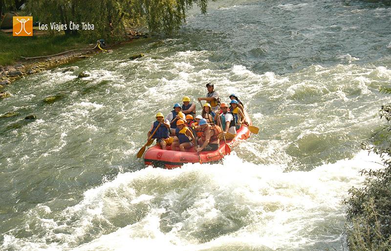 Rafting en el Cañon del Atuel