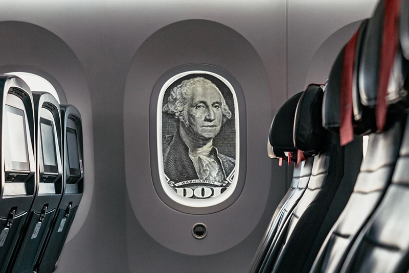 vuelos en dolares