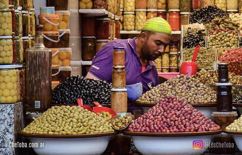 El gran bazar de Marrakesh