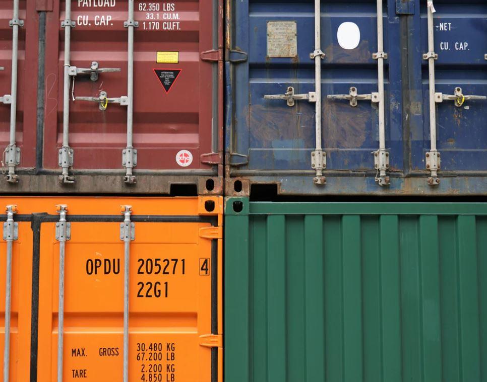Medidas de un container