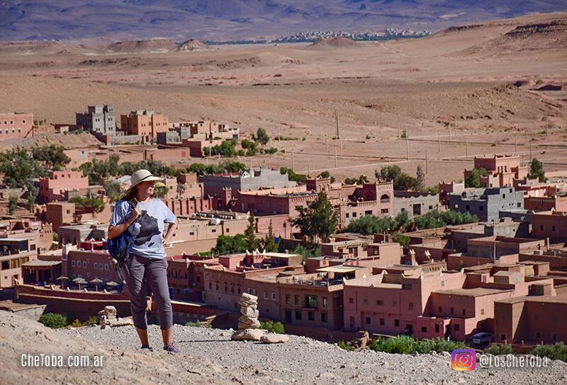 vistas panoramicas del desierto de marruecos