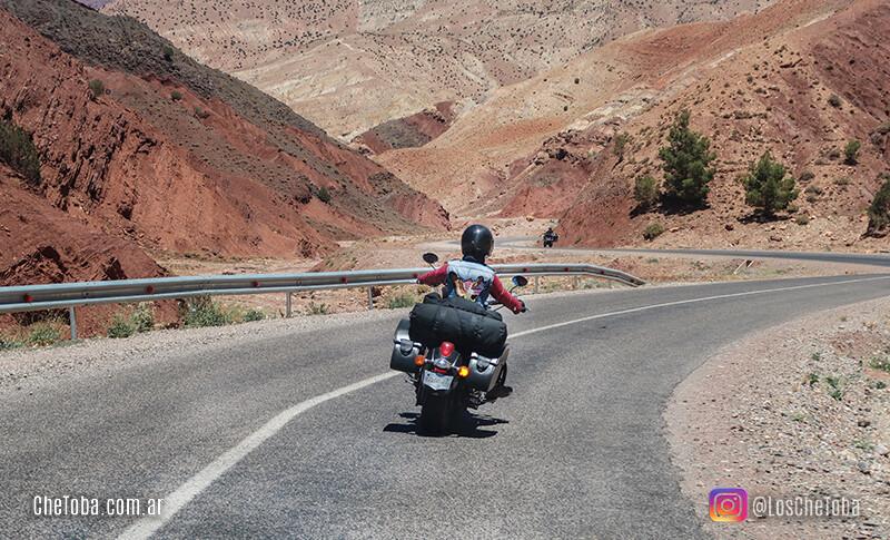 Viaje en moto por muerruecos