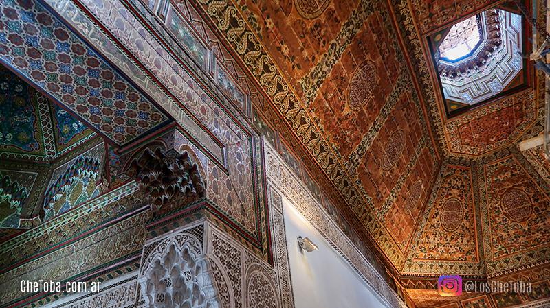 Palacio de la bella. Marruecos