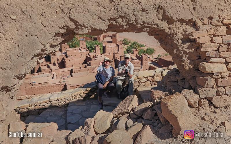 Los chetoba en el desierto de Marruecos