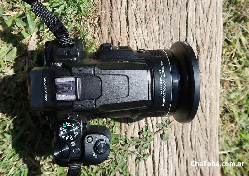 Nikon P950 Modo Ave o Birding