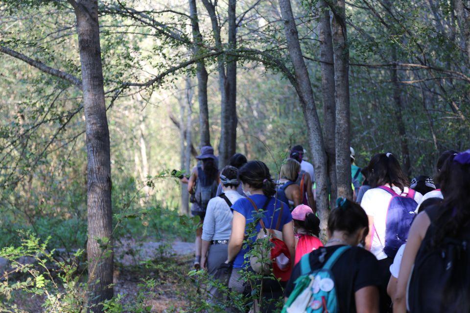 Sendero de los primeros pobladores, Anisacate