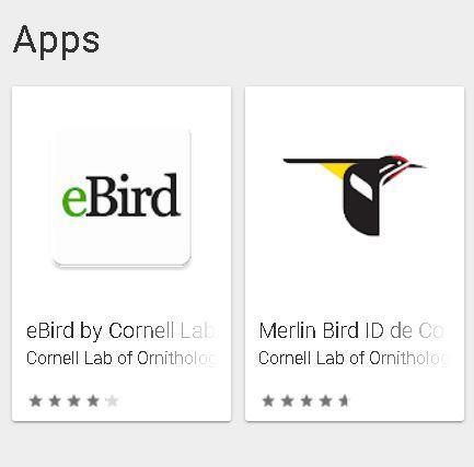 Instalar app para observadores de aves