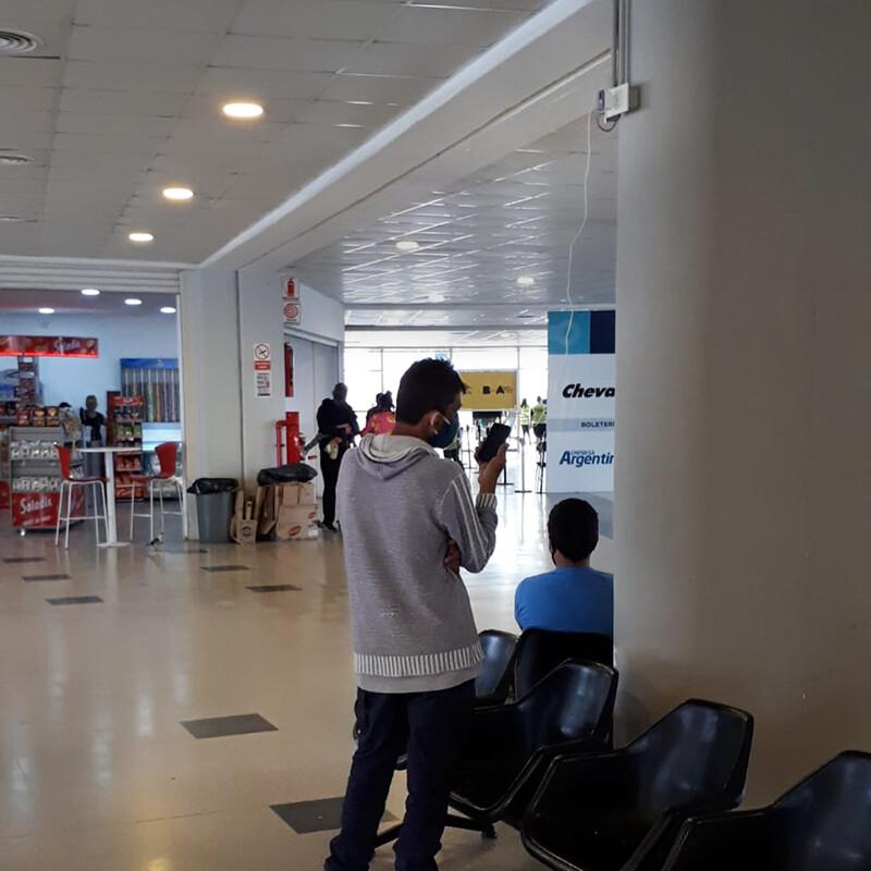 Terminal Dellepiane enchufes