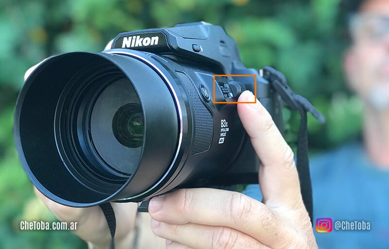 Nikon Coolpix telefoto