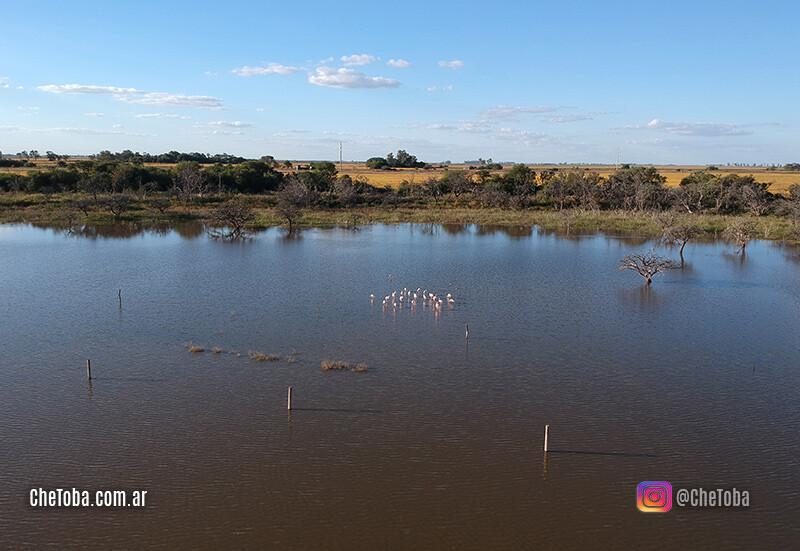 Laguna Monjes, Villa María