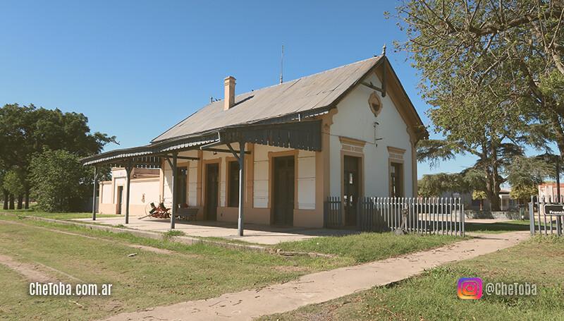 Vieja estación de Tren en La Paquita
