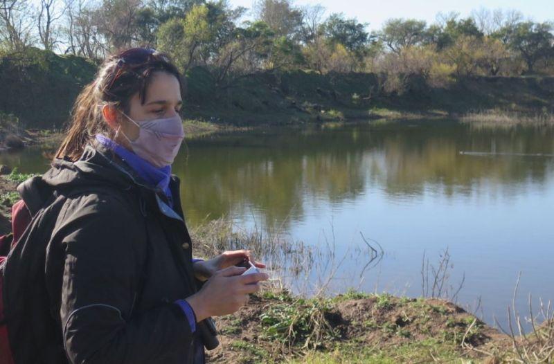 Relevamiento de aves en Villa Nueva con la UNVM