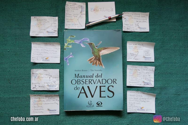 Tarjetas de estudio de Ornitología
