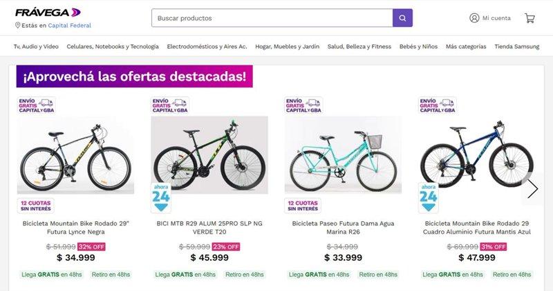 Cuáles son las bicicletas con el descuento de hasta el 40%