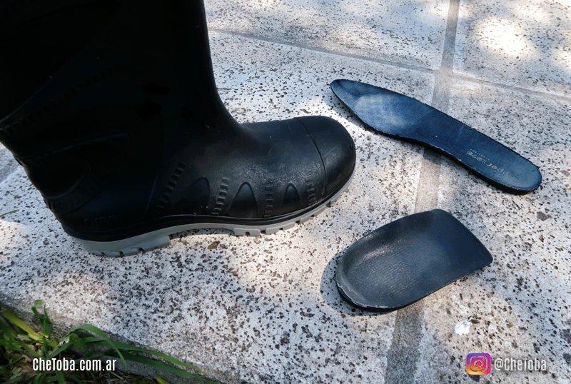 Botas de goma cómodas tipo Ombu o botas de goma Pampero
