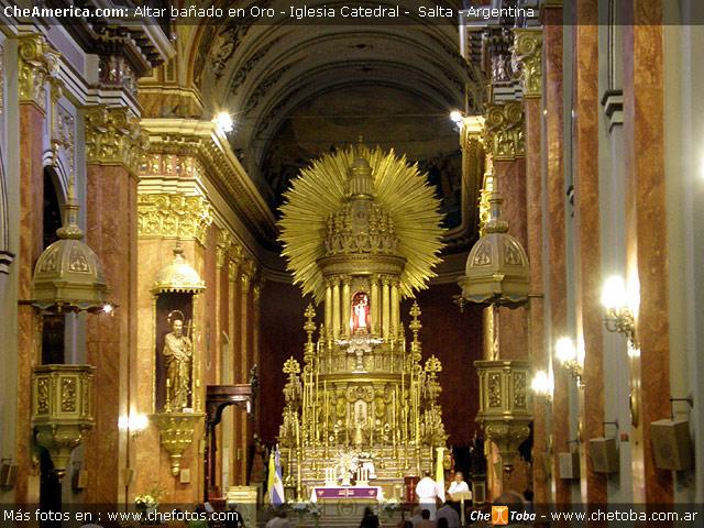 Foto Altar de la Catedral de Salta Capital