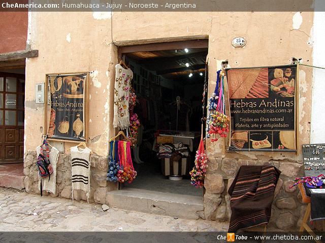 Tiendas Artesanía Humahuaca