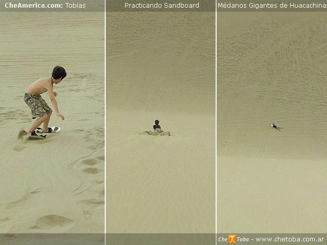 Te gusta el Sandboard? Tu destino es Huacahina