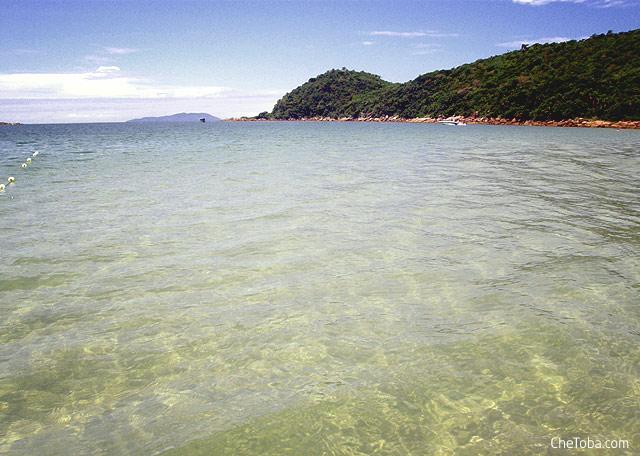 Aguas claras en Celso Ramos