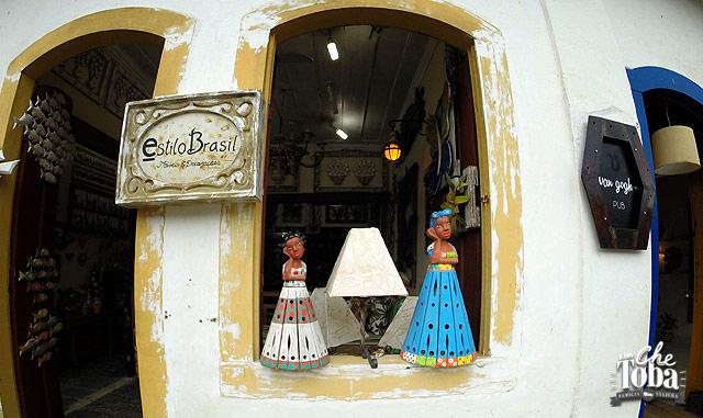 Artesanías en Paraty - Brasil