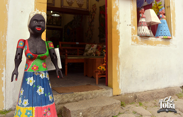 Artesanato en Madera - Paraty