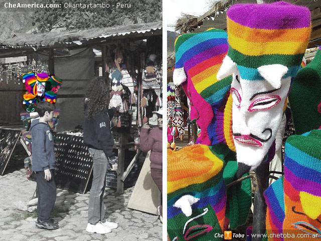 Artesanías en Ollantaytambo