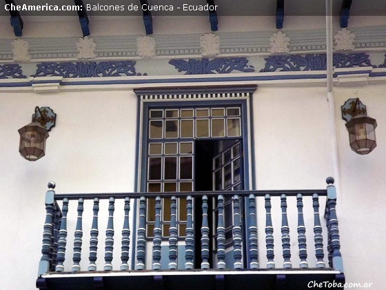 Más balcones coloniales