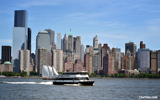 Ferry Jersey Manhattan NYC