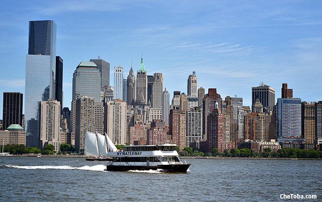 Ferry Jersey Manhattan NYC