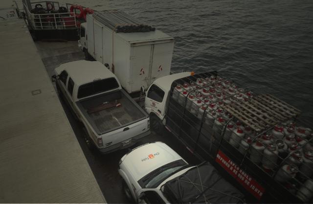 Ferry que cruza a Bocas del Toro