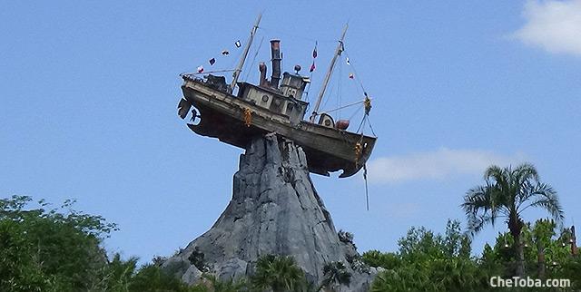 El Barco de Typhoon Lagoon