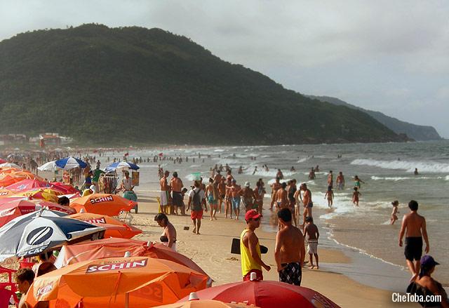 Foto playa Barra da Lagoa Florianopolis
