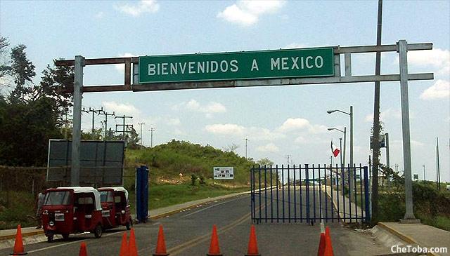 Frontera Guatemala México Tenosique