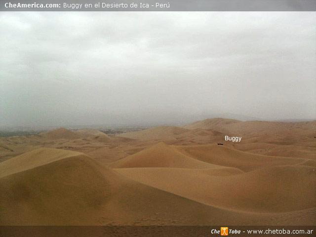 Buggy Tour desierto Huacachina Perú