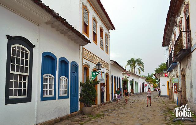 Calles de Paraty Colonial - Río de Janeiro