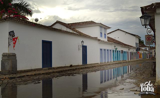 Paraty la ciudad que se inunda