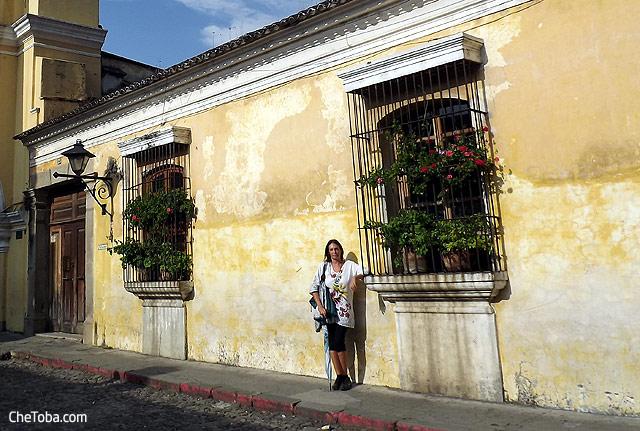 Marce en Antigua Guatemala